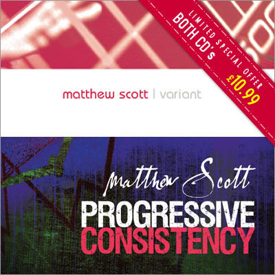 Progressive Consistency CD and Variant CD by Matthew Scott - Special Offer